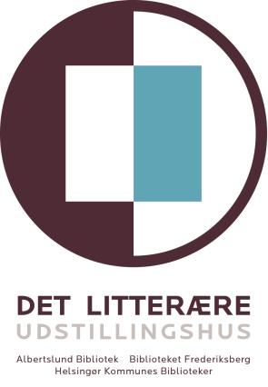 Det litterære udstillingshus logo